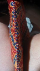 braid along seam