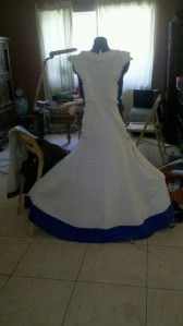 full view sideless surcoat front
